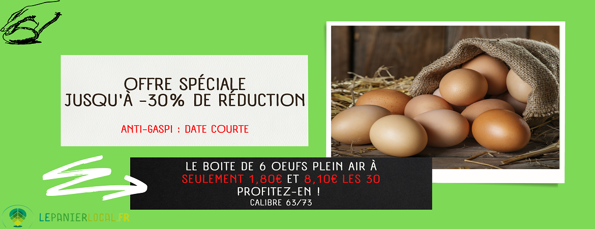 Promotions oeufs